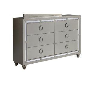 Rosaline 6 Drawer Dresser by Rosdorf Park