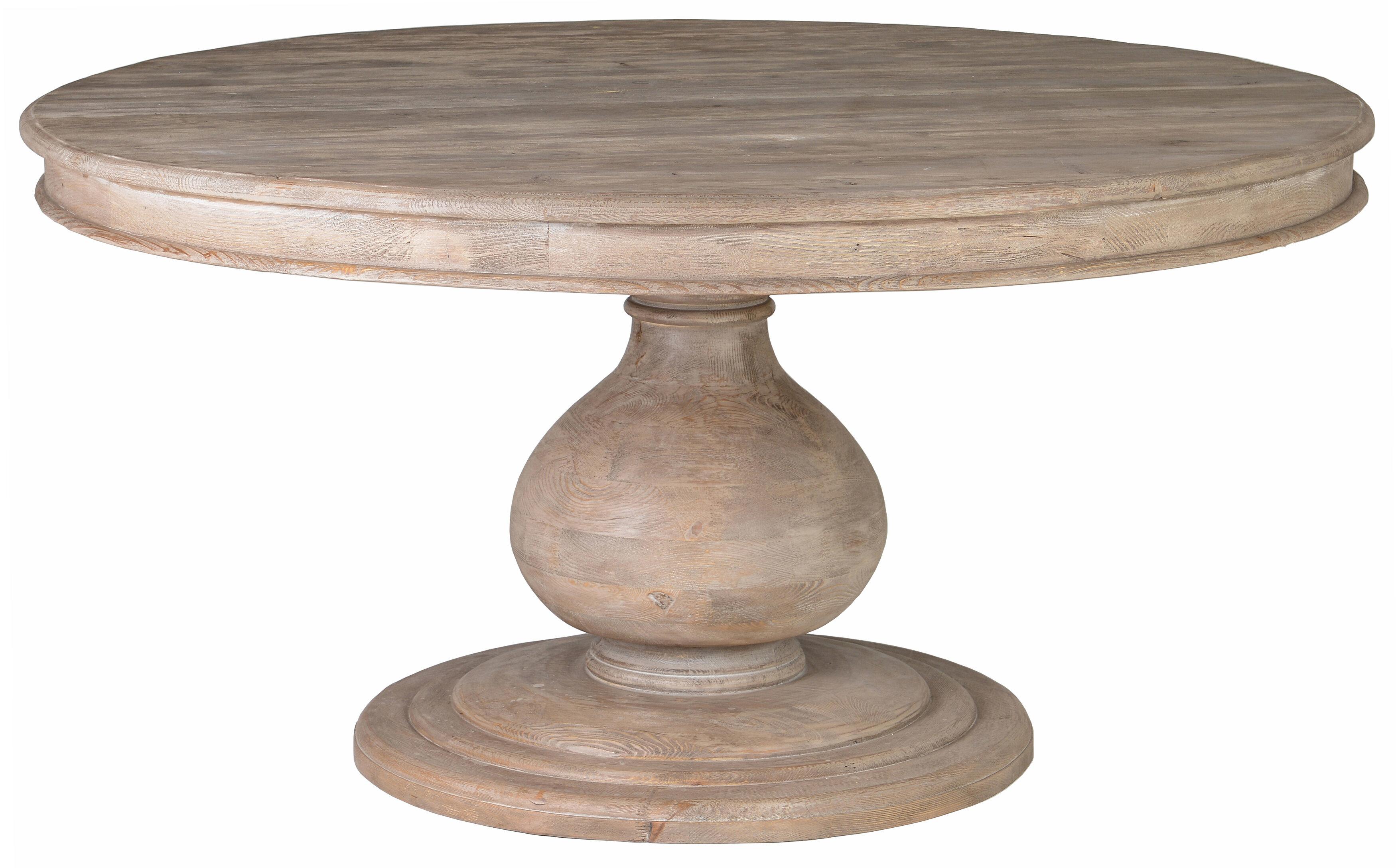 One Allium Way Orear Pine Dining Table U0026 Reviews | Wayfair