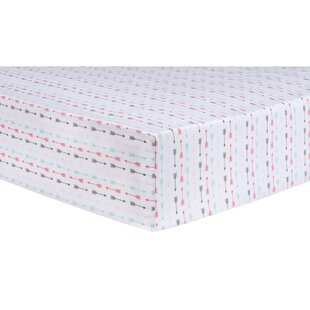 Great choice Trudell Arrows Fitted Crib Sheet ByHarriet Bee