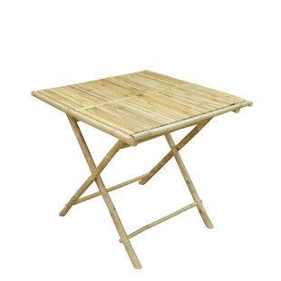 Latsia Folding Solid Wood Dining Table by..