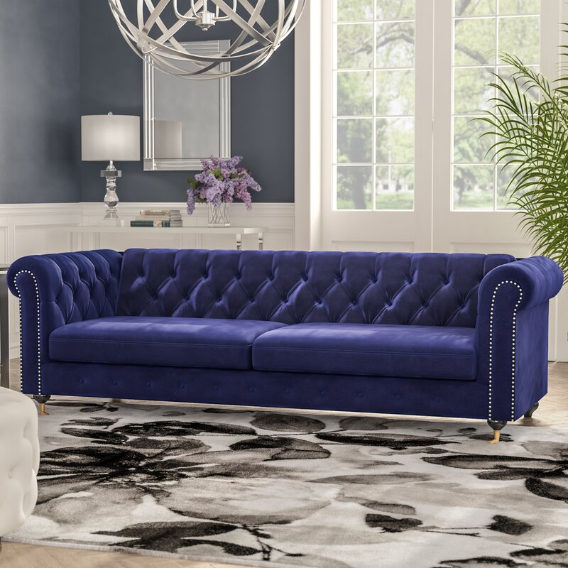 Noelia Chesterfield Sofa & Reviews | AllModern
