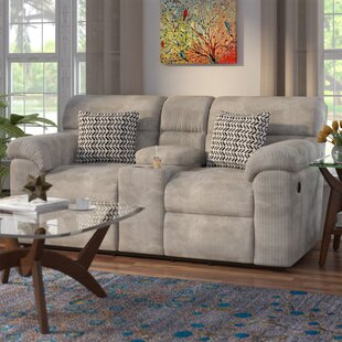 Order Melville Console Recliner Reclining Loveseat by Red Barrel Studio Reviews (2019) & Buyer's Guide