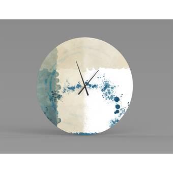 Orren Ellis Oversized Maira Wall Clock Wayfair