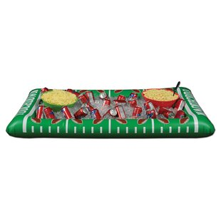 48 Can Inflatable Football Buffet Cooler