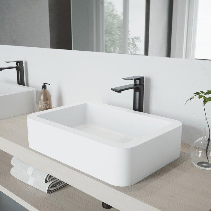Norfolk Vessel Sink Bathroom Faucet