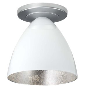 Cleo 1-Light Semi-Flush Mount