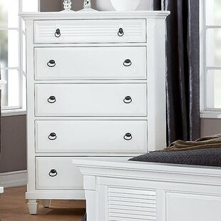 Wheaton 5 Drawer Standard Chest by DarHome Co Today Sale Only