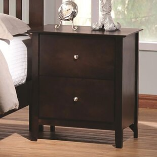 Sagers 2 Drawer Nightstand