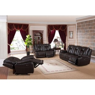 Mickey Reclining Configurable Living Room Set