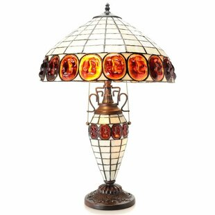 Top Reviews Double Lite Turtle 24 Table Lamp By Warehouse of Tiffany