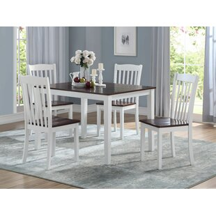 Zakary 5 Piece Dining Set by August Grove