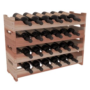 Karnes Redwood Mini Scalloped 24 Bottle T..