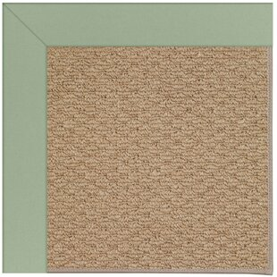 Lisle Machine Tufted Light Jade/Brown Indoor/Outdoor Area Rug
