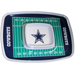 NFL Chip and Dip Tray BySiskiyou Gifts