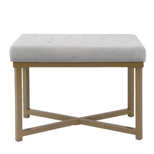 Mercer41 Bridgegate Tufted Vanity Bench