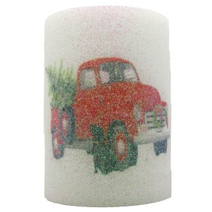 Truck Unscented Flameless Candle