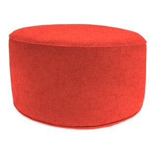 Lehmann Bead Fill Pouf Ottoman with Cushion by Turn on the Brights