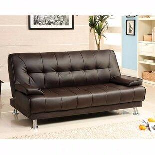 Jhunjhunwala Leatherette Convertible Sofa