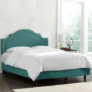 Deeanna Traditional Upholstered Panel Bed