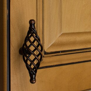 Single Rounded End Cabinet Birdcage Knob