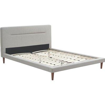 Serta at Home Sierra Upholstered Platform Bed Size: King
