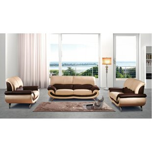 Orren Ellis Ormsby 3 Piece Living Room Set