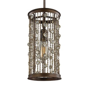 Henderson 1-Light Cylinder Pendant by Bungalow Rose