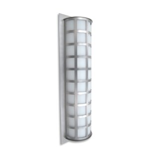 Affordable Caufield 3-Light Glass Outdoor Flush Mount By Latitude Run