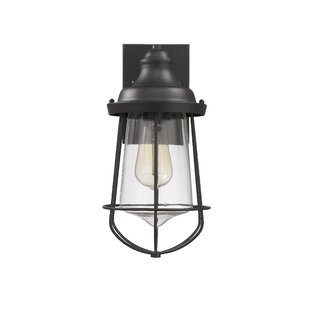 Duell Industrial Outdoor Wall Lantern