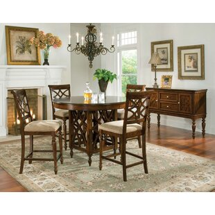 Three Posts Blue Hills 5 Piece Dining Set