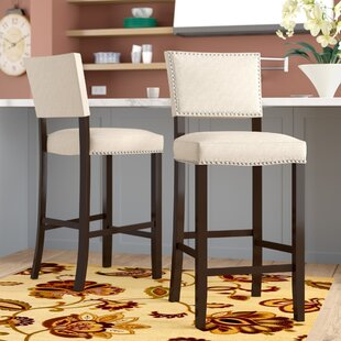 Cleveland 30.5 Bar Stool (Set of 2) Alcott Hill