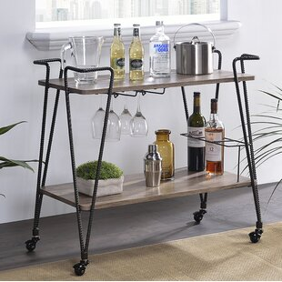 Minyard Bar Cart by Williston Forge