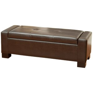 Shaffer Storage Ottoman by Latitude Run