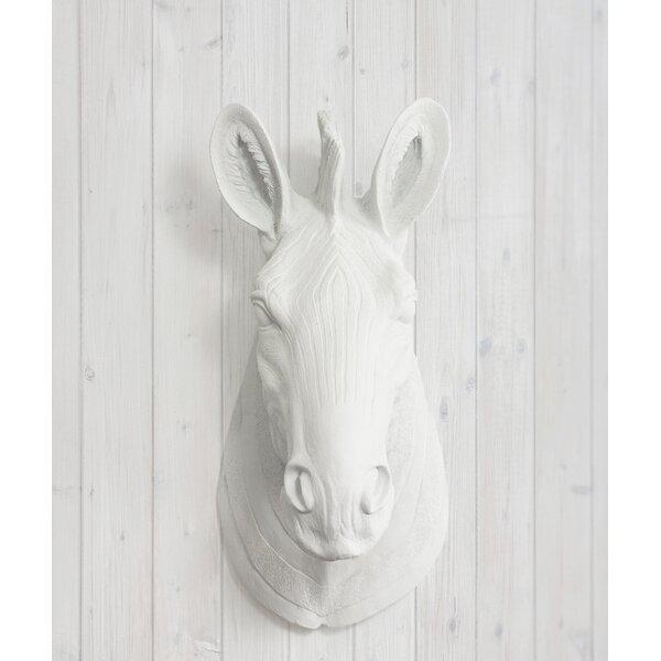 Zebra Head Wall Decor | Wayfair