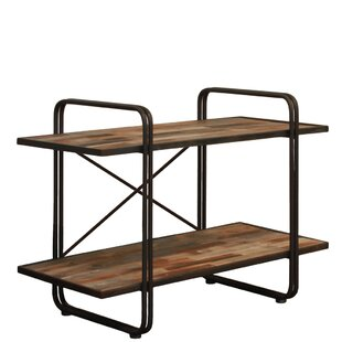 17 Stories Geron Wood Rectangular Shelf