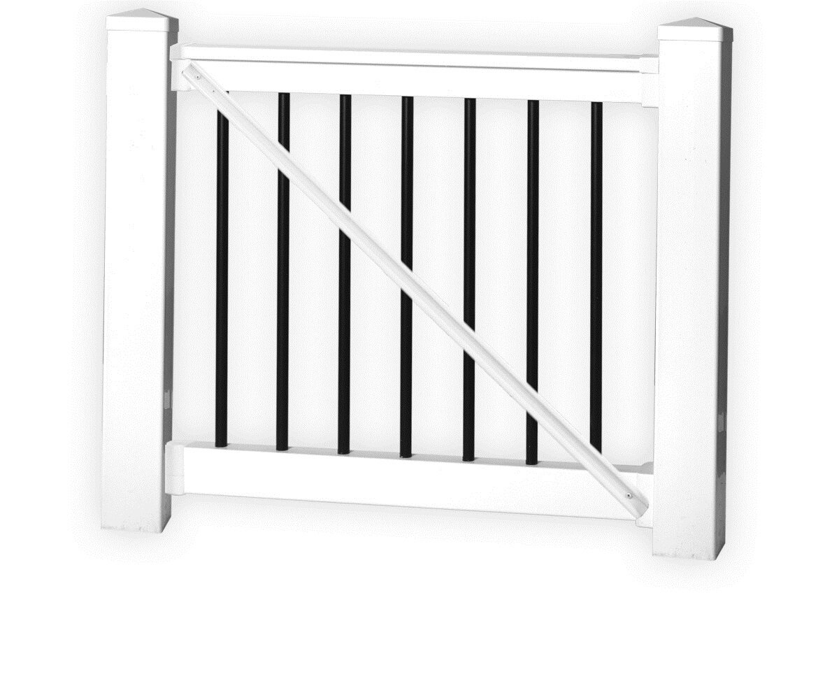 H X 5 Ft W Beaumont Railing Gate