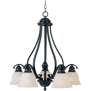 Sparland 5-Light Shaded Chandelier by Alcott Hill