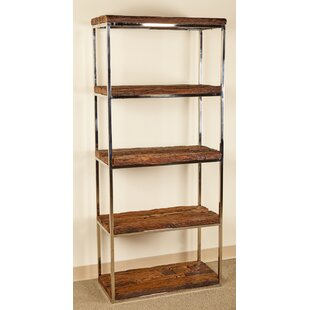 Wonderful Walden Standard Bookcase Millwood Pines