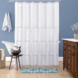 Best Reviews Carolina Microfiber Shower Curtain ByAndover Mills