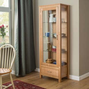 Willowdale Standard Curio Cabinet By Brambly Cottage