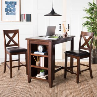 Renwick 3 Piece Pub Table Set DarHome Co