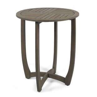 Rodarte Solid Wood Bistro Table By Bungalow Rose