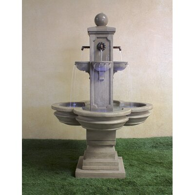 Catalina Concrete Terrace Fountain Giannini Garden Ornaments