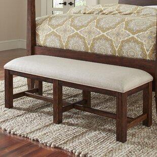 Schaffer Upholstered Bench by Birch Lane? Heritage