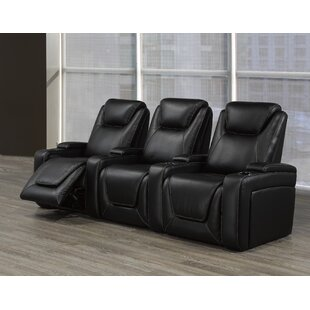 Red Barrel Studio Home Theater Sofa (Row of 3)