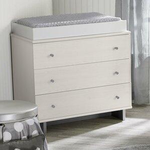 Maple Lane Dove 3 Drawer Dresser by Little Seeds