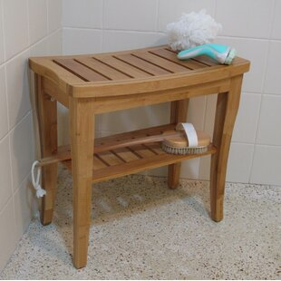 Beau Champaign Bamboo Entryway Bench
