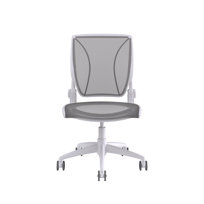 Image of: Humanscale Diffrient World Mesh Desk Chair Reviews Wayfair