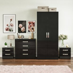 Review Joselyn 4 Piece Bedroom Set