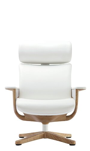 Nuvem High Back Leather Desk Chair